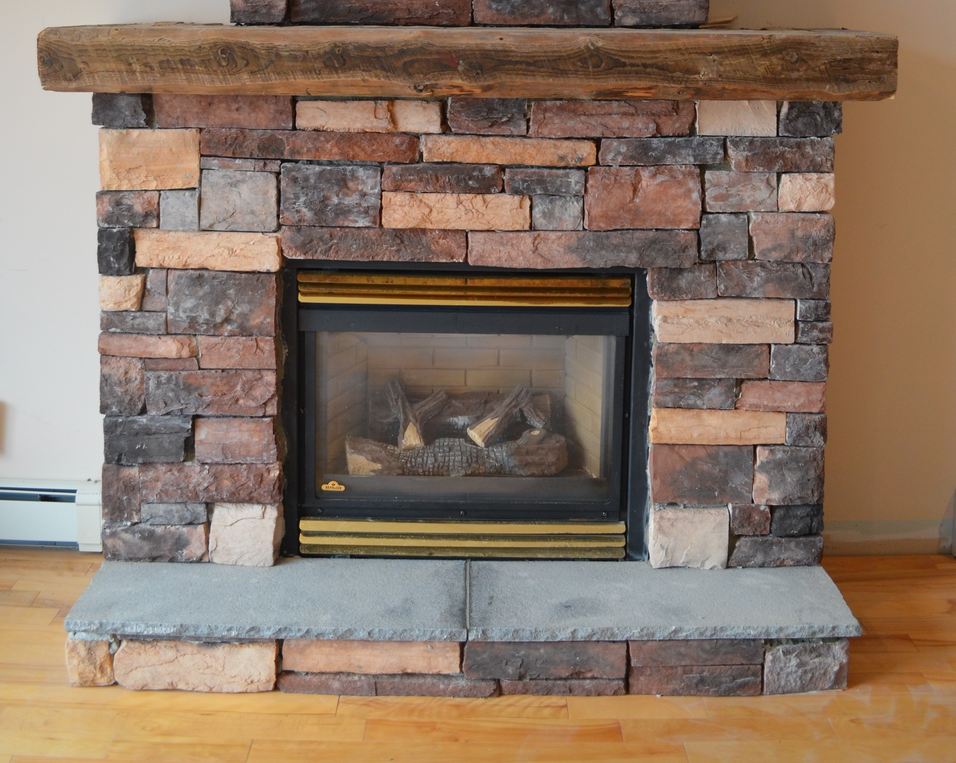 definition phazer porcelain mirro screen set options radiant logs standard gas fireplace prrp safety panels product flame products napoleon gallery log reflective high